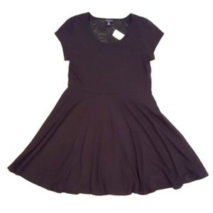 Aeropostale Fit and Flare Little Black Dress